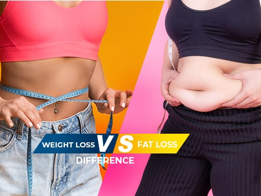 Weight Loss Vs Fat Loss Difference