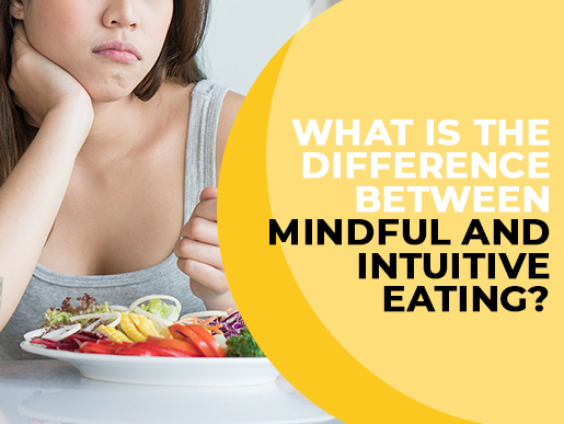What is the difference between Mindful and Intuitive Eating?