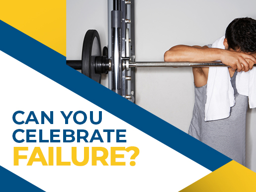 Can you celebrate failure?