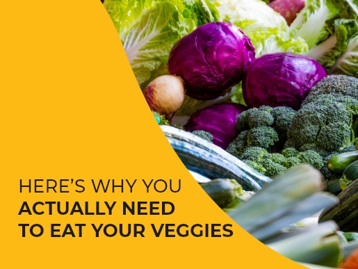 Here's why you ACTUALLY need to eat your veggies